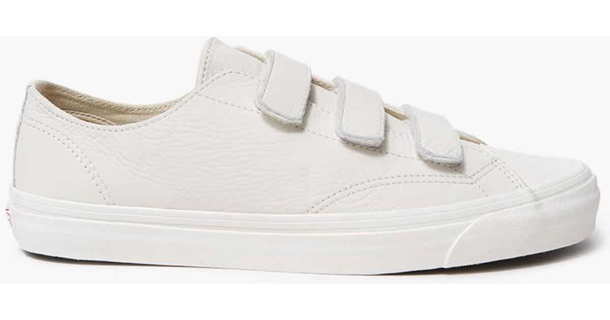 5924f3441391 Lyst - Vans Og Style 23 V Lx In Marshmallow in White