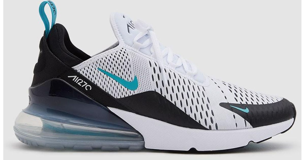 huge discount 6079f 98243 Lyst - Nike Air Max 270 Shoe In Black white Dusty Cactus in Black for