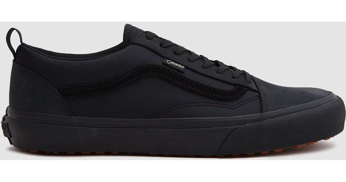 Lyst - Vans Old Skool Gore-tex Mte Sneaker In Blackout in Black for Men 60fa8798a