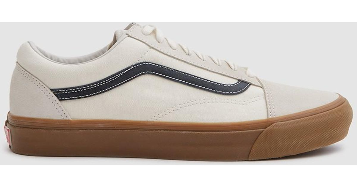 79b457ca0c Lyst - Vans Og Old Skool Lx Sneaker In Marshmallow light Gum for Men