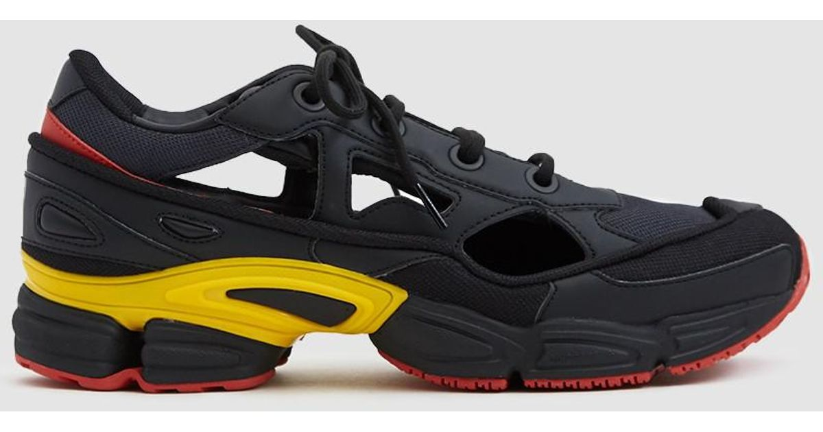 new arrival 73e23 beedf adidas By Raf Simons Belgium National Day Rs Replicant Ozweego Sneaker in  Black for Men - Lyst