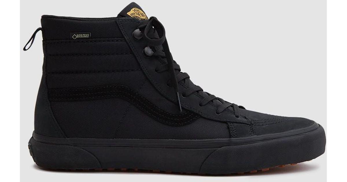 cdc90f1e6e Vans Sk8-hi Gore-tex Mte Sneaker in Black for Men - Lyst