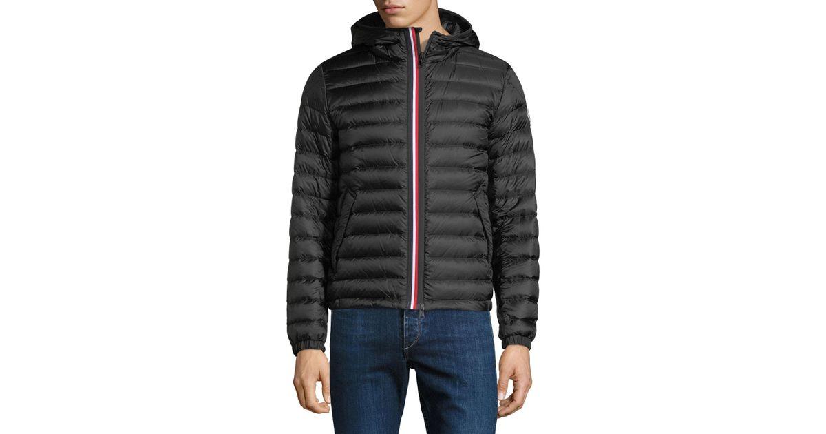 bb9d48d287df Lyst - Moncler Men s Morvan Zip-front Puffer Jacket in Black for Men