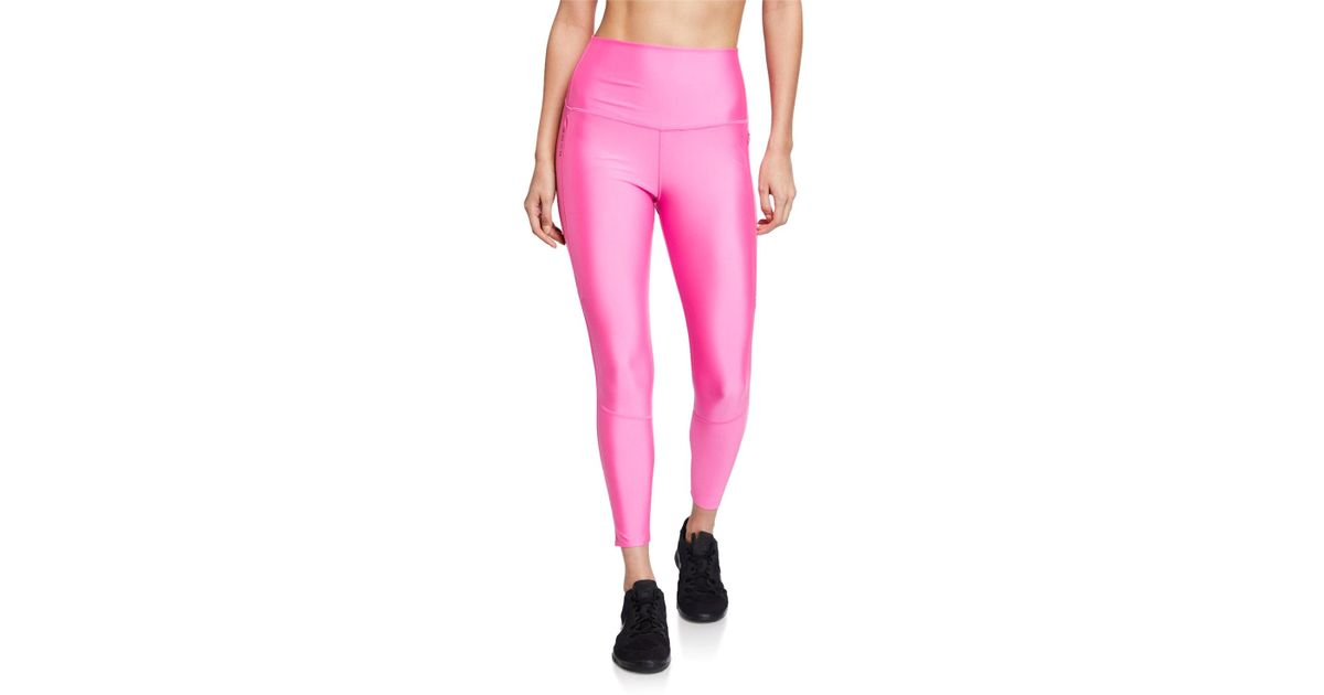 dc09c159b72658 Nike Tech Pack 2.0 Neon Stretch Leggings in Pink - Lyst