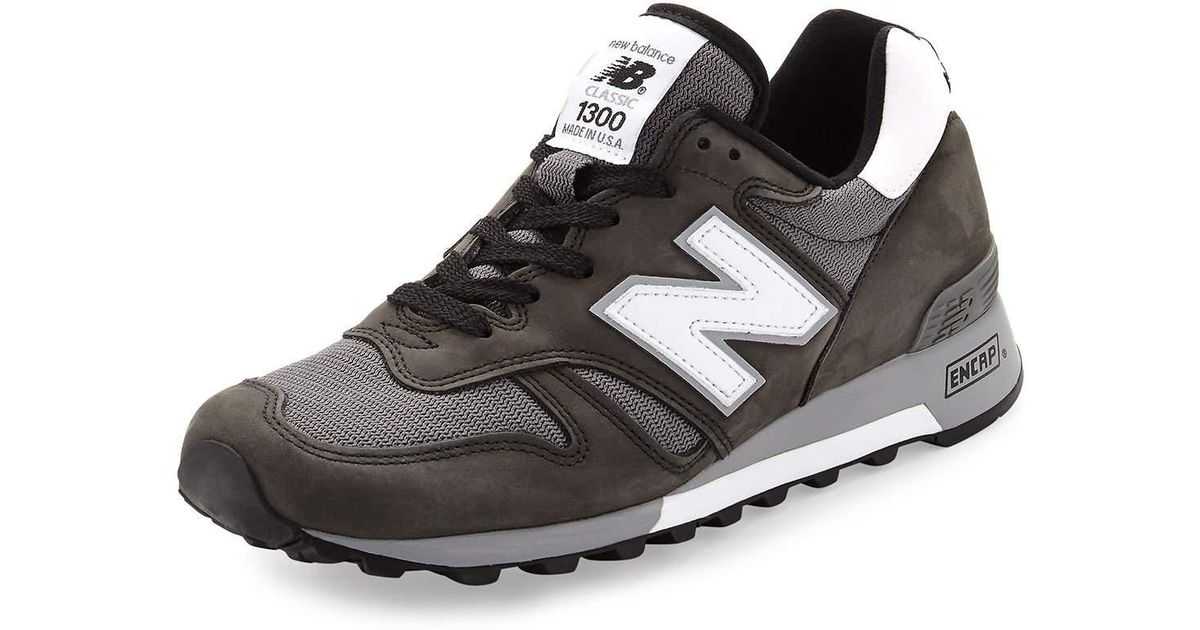 timeless design 35b50 43530 ... denmark lyst new balance 1300 heritage mens suede and mesh sneaker in  black for men 98141