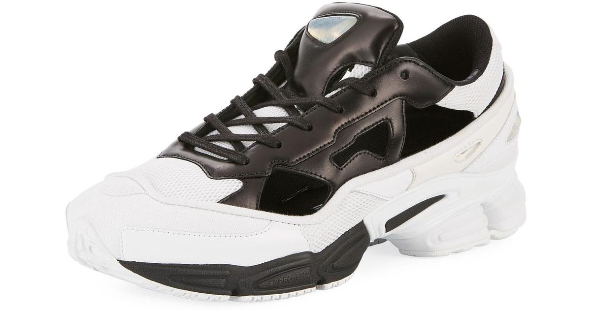 newest 821a6 a0c6f adidas By Raf Simons Men's Replicant Ozweego Trainer Sneakers in Black for  Men - Lyst