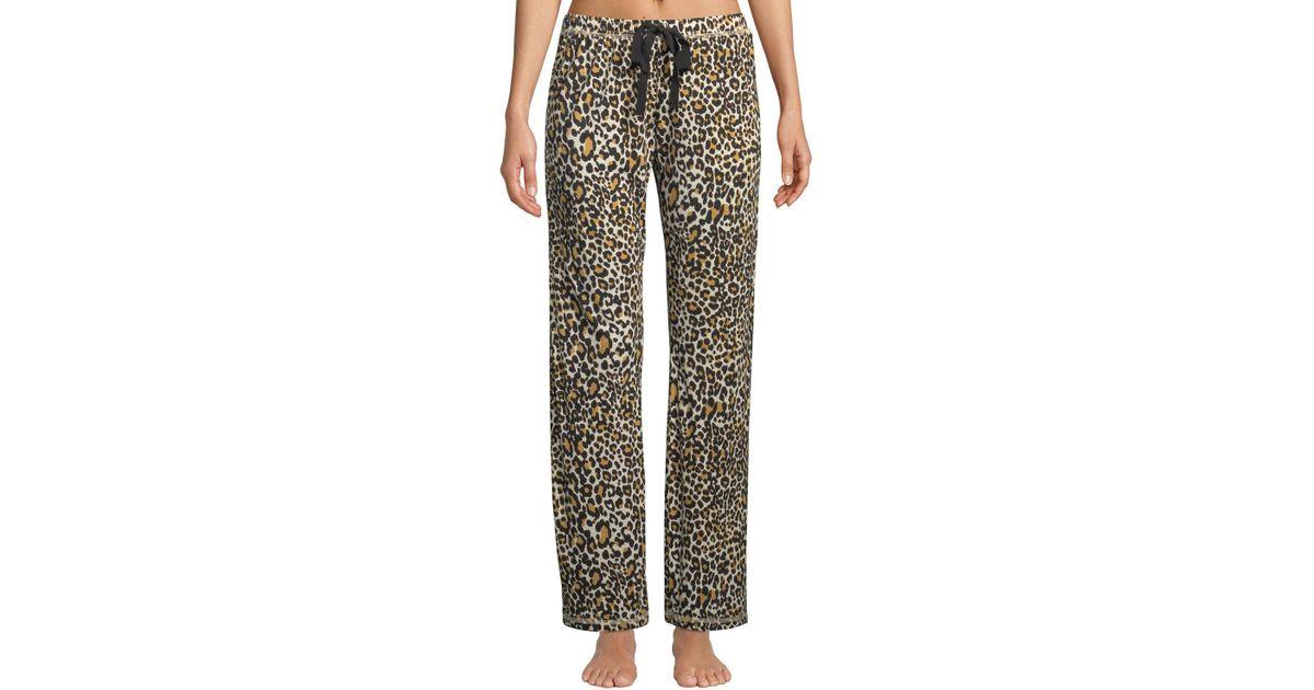 ae6eb6bdd33d Lyst - Pj Salvage Give Love Print Pajama Pants in Gray