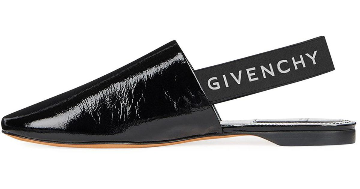 b37ce147fad Lyst - Givenchy Rivington Slingback Sandals in Black - Save 32%