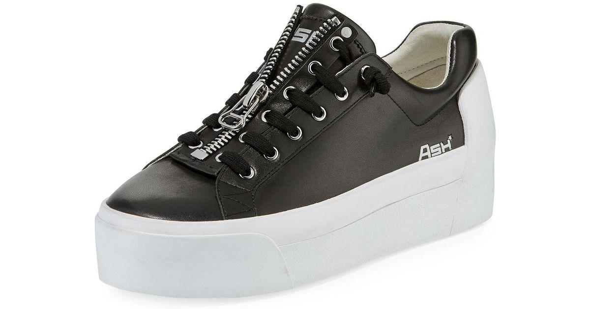 c273858baf32 Lyst ash buzz zip platform sneakers in black jpeg 1200x630 Buzz platform