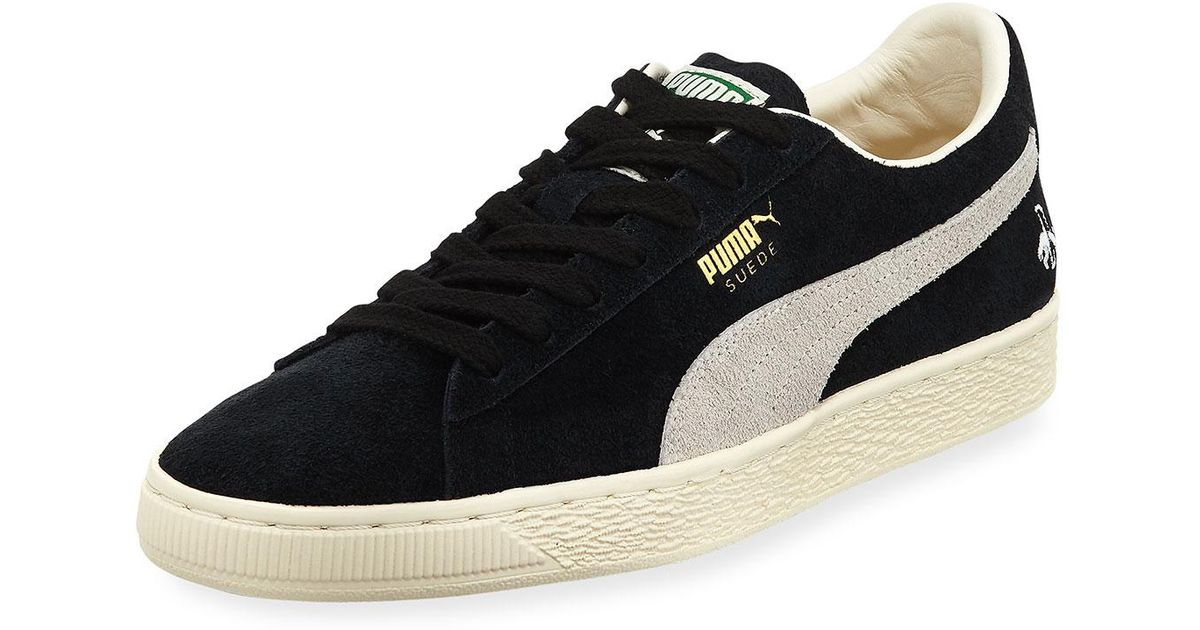 Lyst - PUMA Men s Rudolf Dassler Clyde Suede Low-top Sneaker in Black for  Men a27916c23