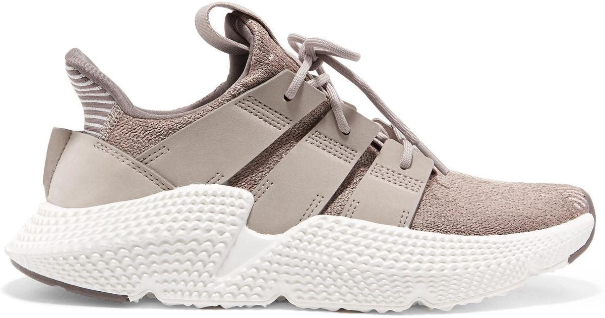 ad53cd89992c adidas Originals Prophere Stretch-knit Sneakers - Lyst