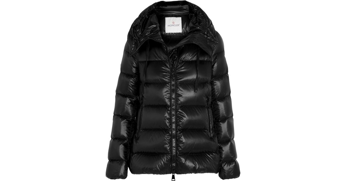 9ee6e932a2ee Lyst - Moncler Serinde Quilted Shell Down Jacket in Black