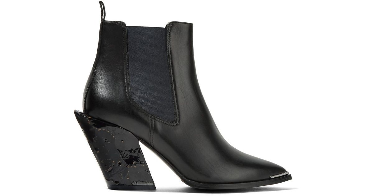 Petsy Leather Ankle Boots - Black Robert Clergerie