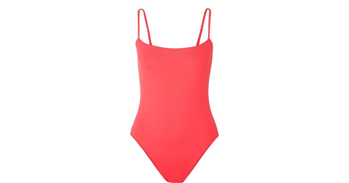 Dion Lee Bikini Triangle à Ornements Tri Lock - Cramoisi En Ligne De Vente En Ligne rEMXeIpw