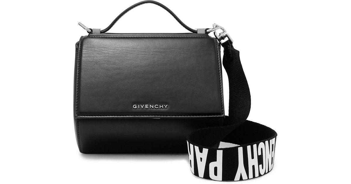 cd2ec0a05d Sac Porté Épaule En Cuir Pandora Box Mini Givenchy en coloris Noir - Lyst
