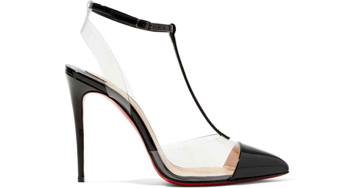 Nosy 100 patent white pumps Christian Louboutin Cheap Sale Official Cheap Shop Offer Footlocker Finishline For Sale Free Shipping Find Great vkIc73