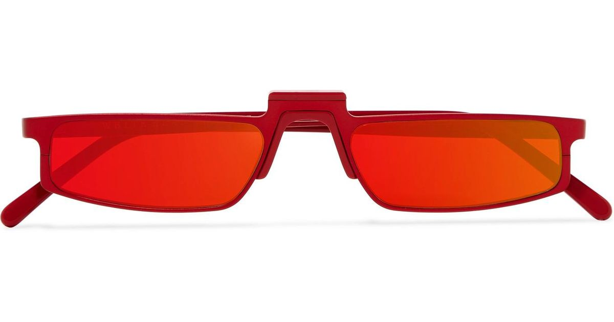 198704140007 andy-wolf-red-Ojala-Square-frame-Metal-Mirrored-Sunglasses-Red-One-Size.jpeg