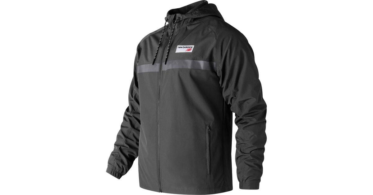 0cef2026a5b New Balance New Balance Nb Athletics 78 Jacket in Black for Men - Save 54%  - Lyst