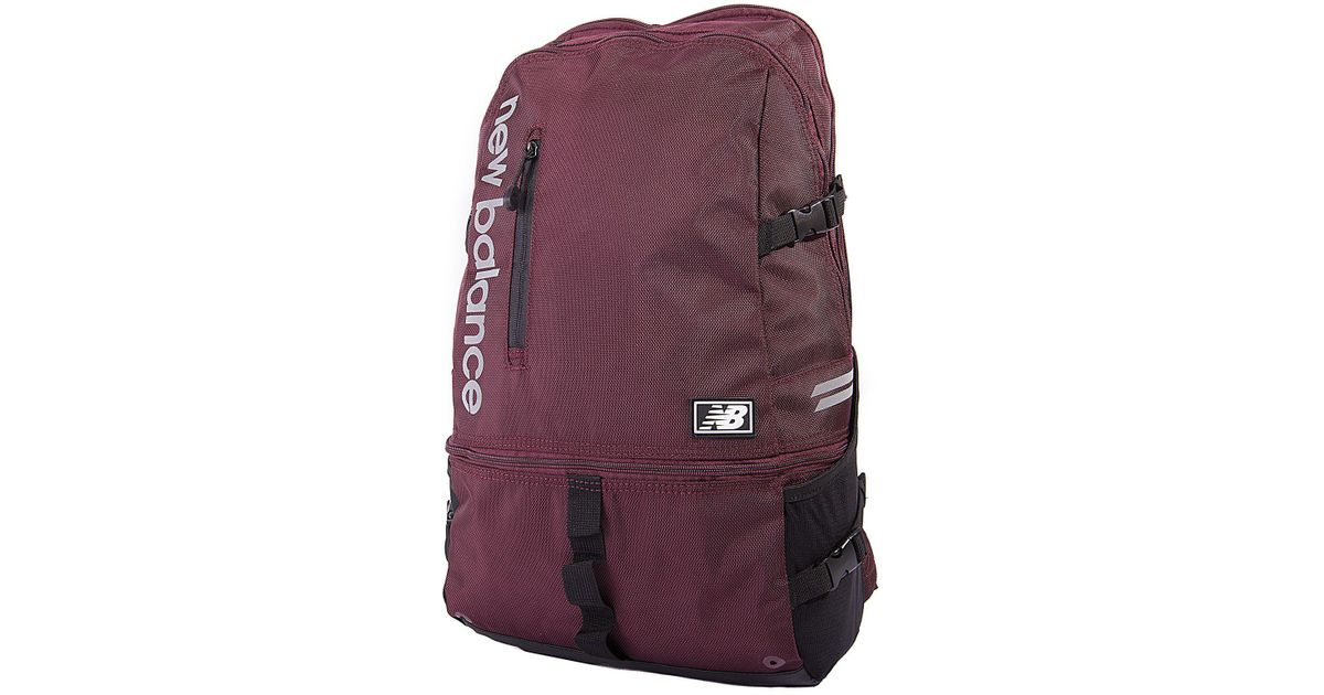 Lyst - New Balance Commuter Backpack Ll in Purple for Men 64644648ab98d