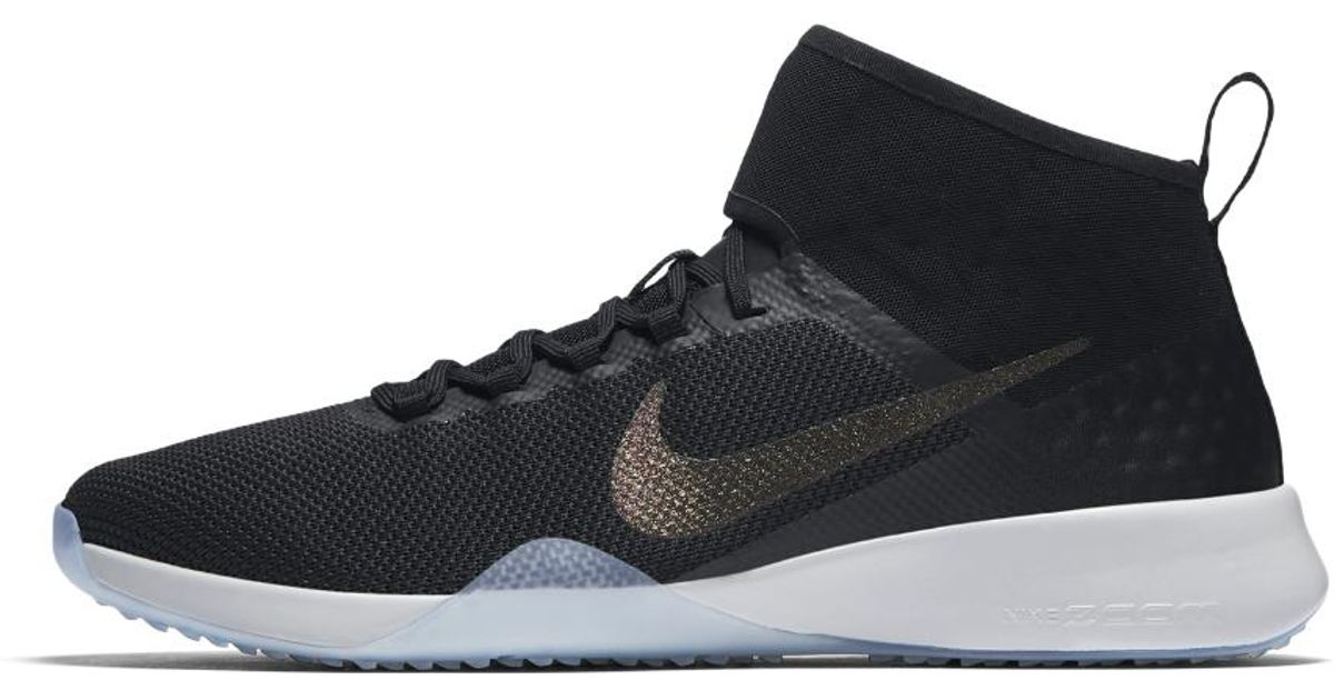 a4c823e4c43b Lyst - Nike Air Zoom Strong 2 Metallic Women s Training Shoe in Black -  Save 40%