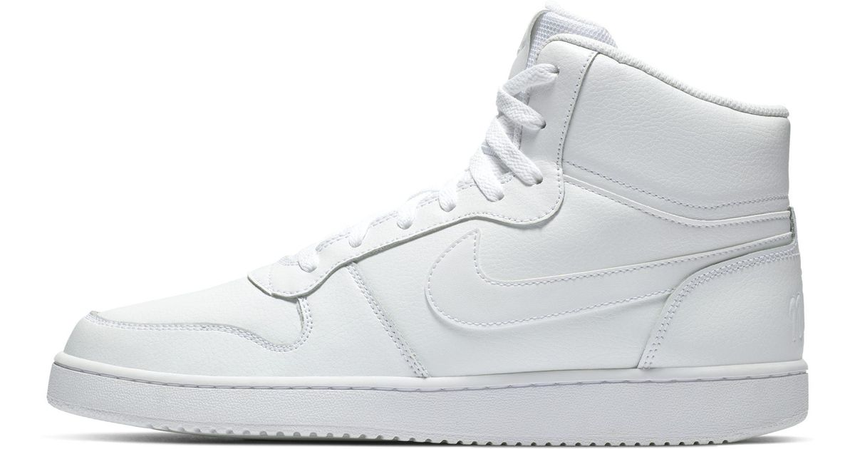 ff6ed3c11407b Ebernon Mid Herrenschuh Nike pour homme en coloris Blanc - Lyst