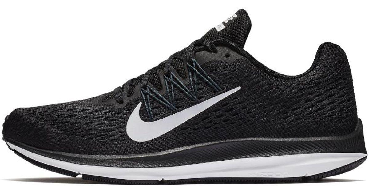 super popular 89570 1bab6 Nike Air Zoom Winflo 5 Men s Running Shoe in Black for Men - Lyst