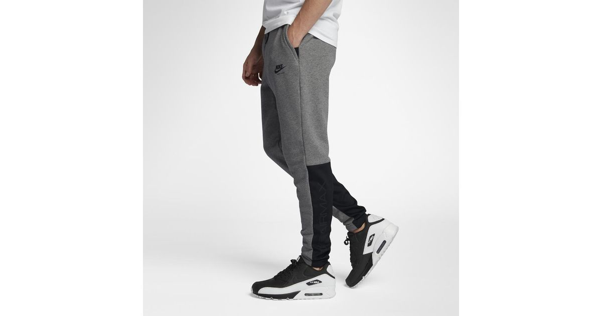 030a4714ab ... Lyst - Nike Sportswear Air Max Men s Joggers in Black for Men .