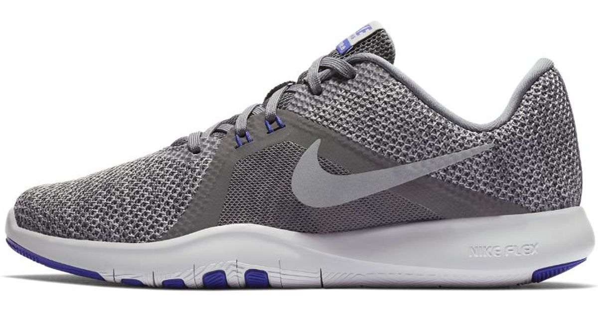 sneakers for cheap 25e40 6460b Nike Flex Tr8 Women s Training Shoe in Gray - Lyst