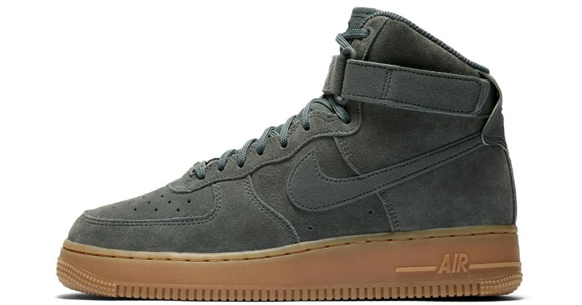 11169dadb8 ... hot lyst nike air force 1 high se womens shoe in green eef57 41981
