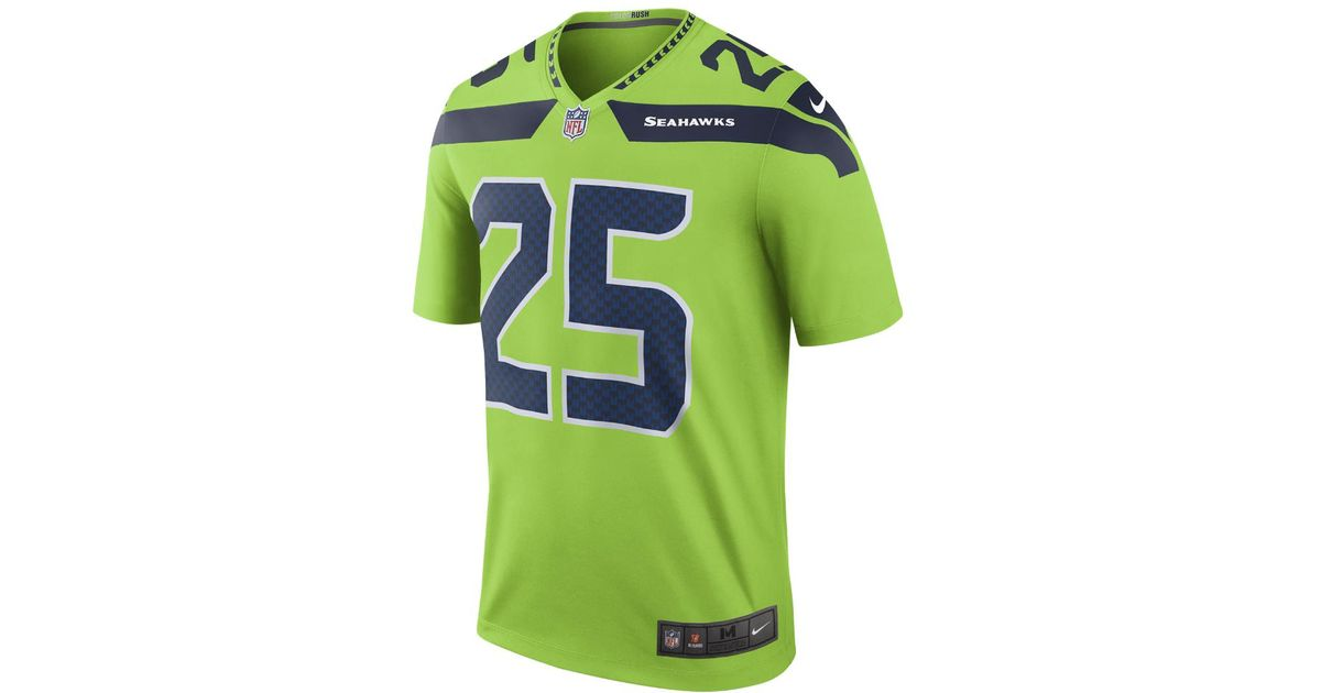 new style 37dcc 6ca6c new zealand richard sherman color rush jersey e7b9c 4a37f