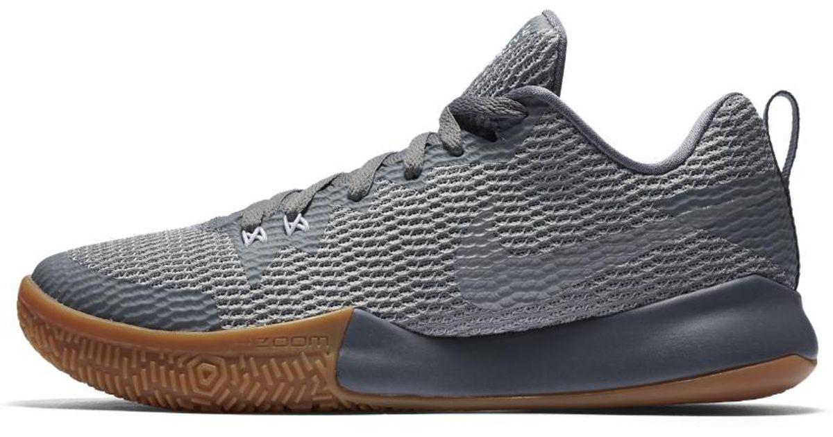 bb5ff8a83dd7 Lyst - Nike Zoom Live Ii Men s Basketball Shoe in Gray for Men