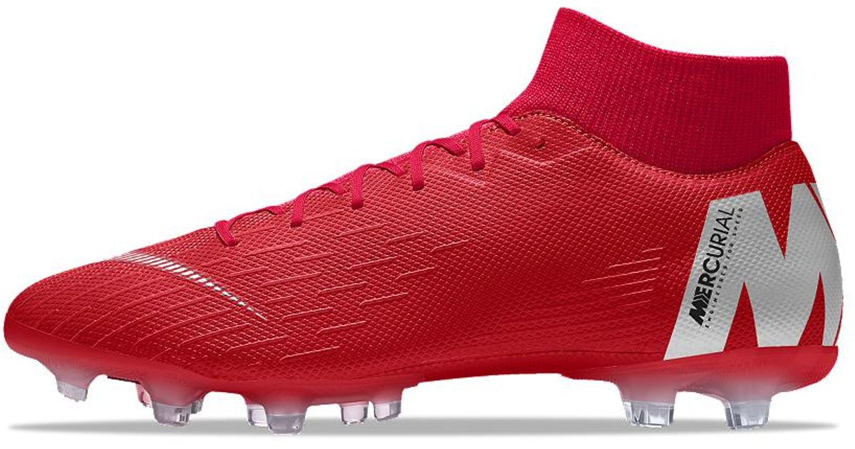 7758b48d5 Nike Mercurial Superfly Vi Academy Mg Id Multi-ground Soccer Cleats in Red  for Men - Lyst