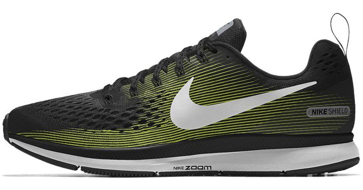 6eecdc16cea77 Lyst - Nike Air Zoom Pegasus 34 Shield Id Men s Running Shoe for Men