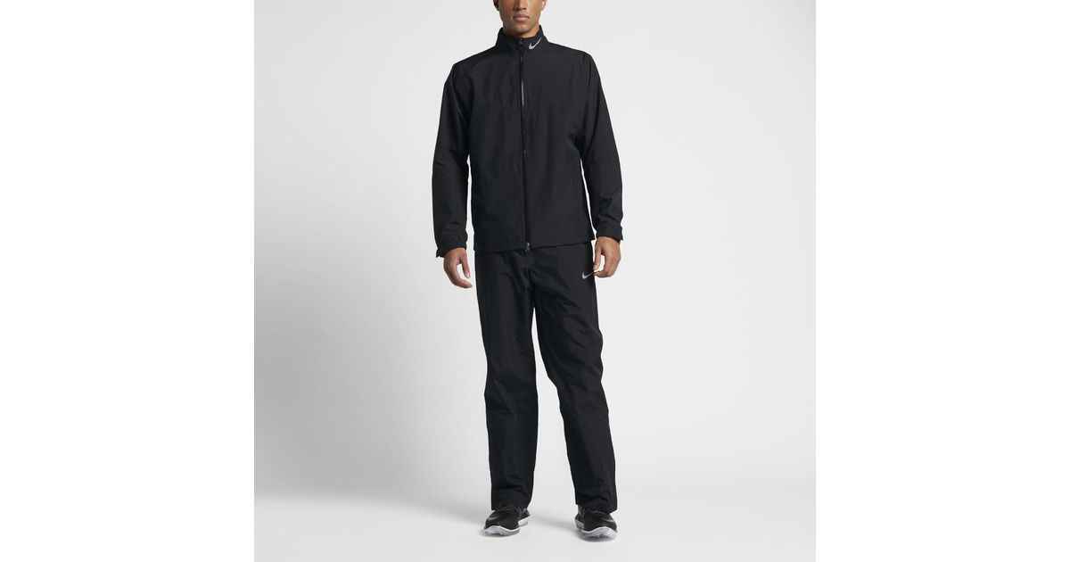 Lyst - Nike Storm-fit Men s Golf Rain Suit in Black for Men aa2005dc3d66