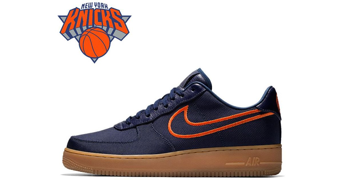 443023cffbd6e Lyst - Nike Air Force 1 Low Premium Id (golden State Warriors) Men s Shoe  in Blue for Men