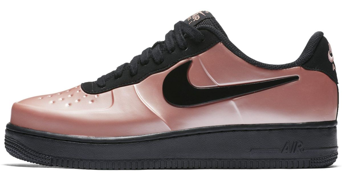5bb78072b73 Nike Air Force 1 Foamposite Pro Cupsole Shoe in Pink for Men - Lyst