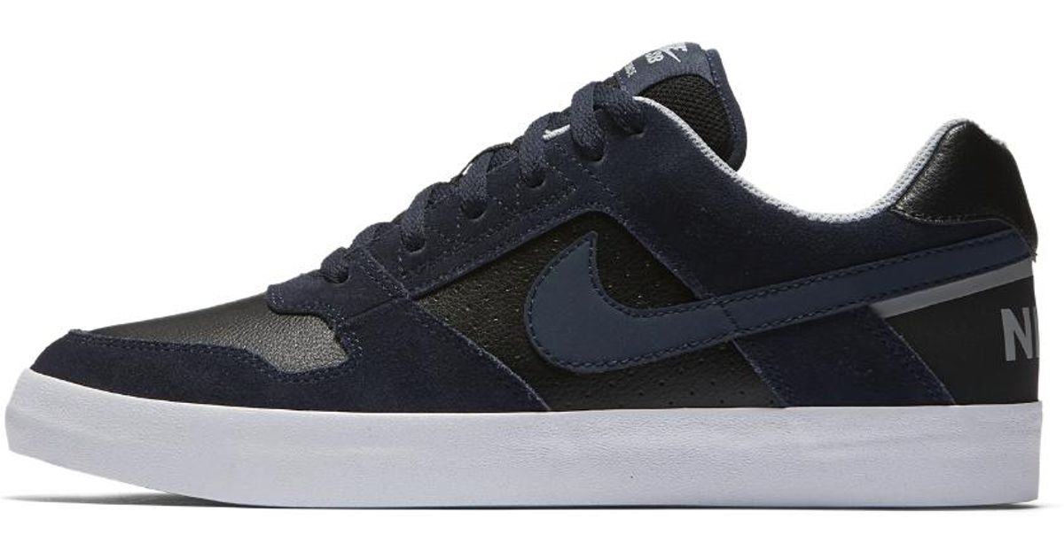 ed0633a26f32cd Lyst - Nike Sb Delta Force Vulc Men s Skateboarding Shoe in Black for Men
