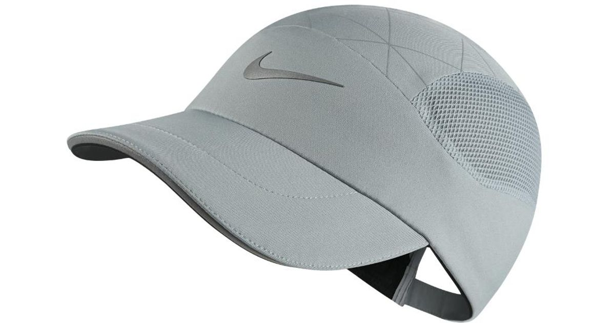 Lyst - Nike Aerobill Tailwind Adjustable Running Hat (grey) in Gray for Men 23f5ce6883a