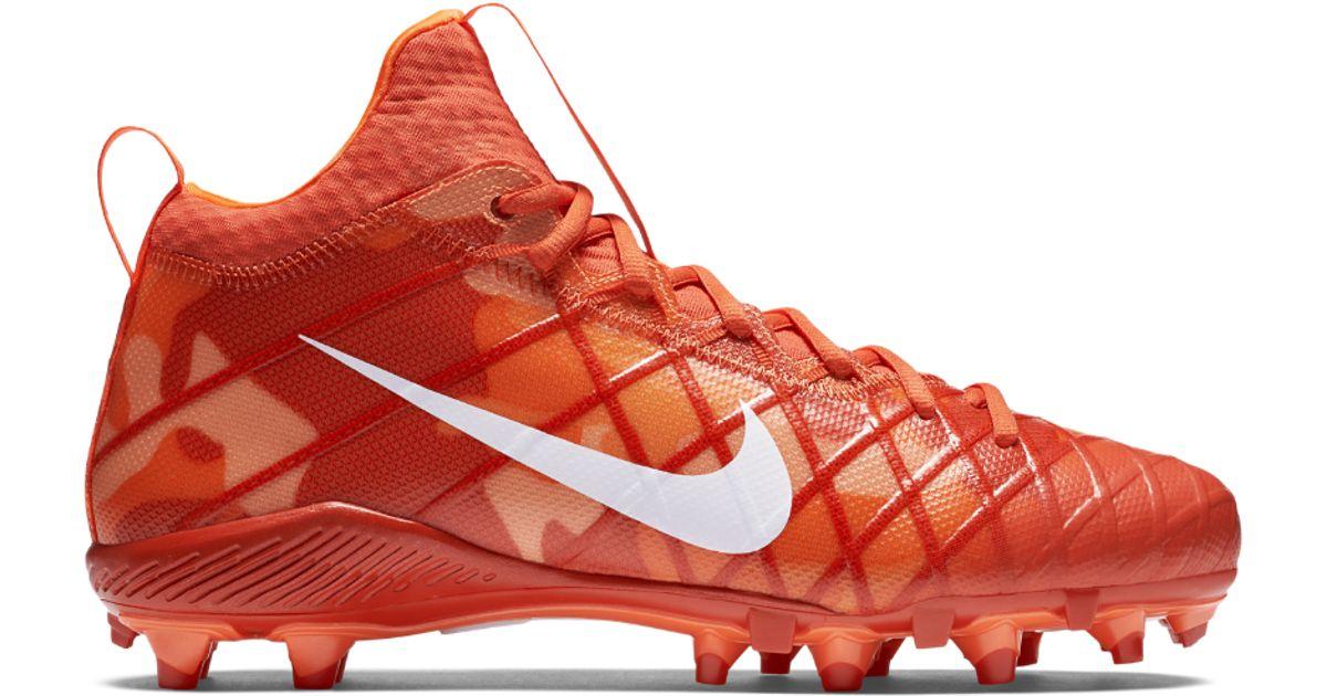 on sale 320e9 854ea Lyst - Nike Alpha Field General Elite Camo Men s Football Cleat in Orange  for Men