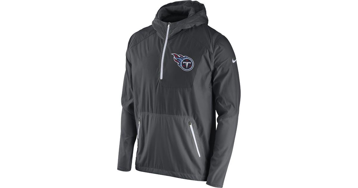 0611a0b431f6 Lyst - Nike Vapor Speed Fly Rush (nfl Titans) Men s Training Jacket in Gray  for Men