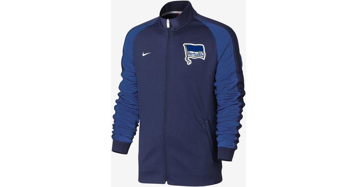 8d75d35f8f Nike Hertha Bsc Berlin Authentic N98 in Blue for Men - Lyst