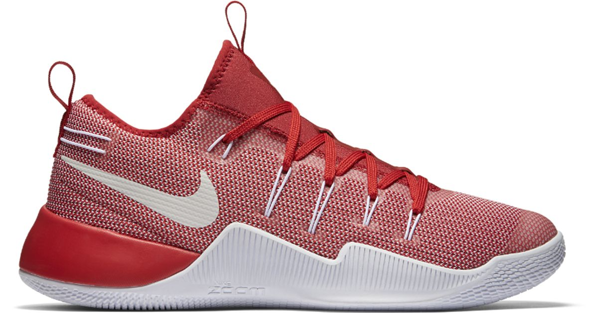 0e2b5bdb065c ... hot lyst nike hypershift team mens basketball shoe in red for men 57ec9  251af