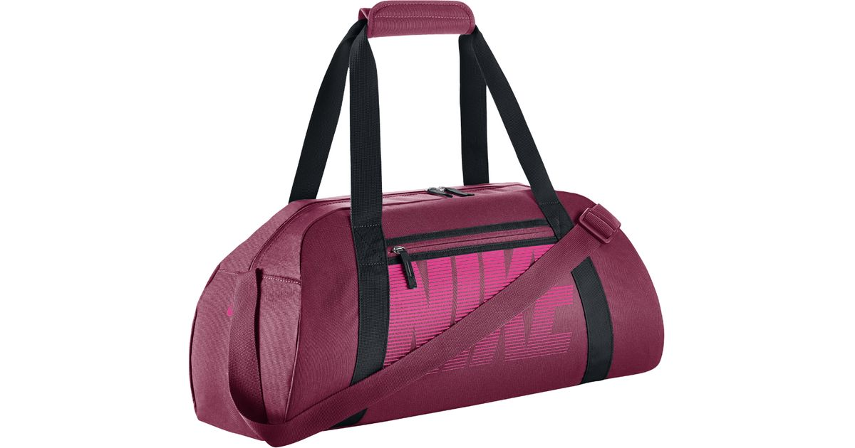 d4caf576ef3e Lyst - Nike Gym Club Women s Training Duffel Bag (red) in Pink