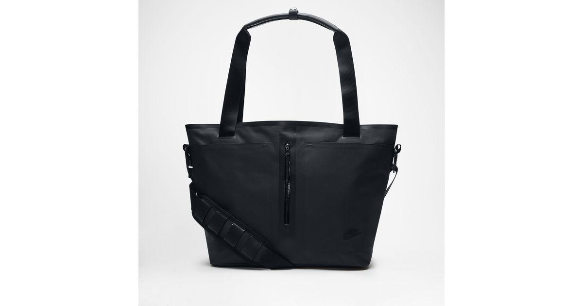 072f76e55e Lyst - Nike Tech Bonded Tote Bag (black) in Black