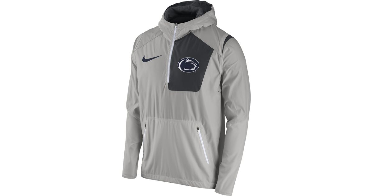 Lyst - Nike College Vapor Fly Rush (penn State) Men s Football Jacket in  Gray for Men ced2a5d87df5