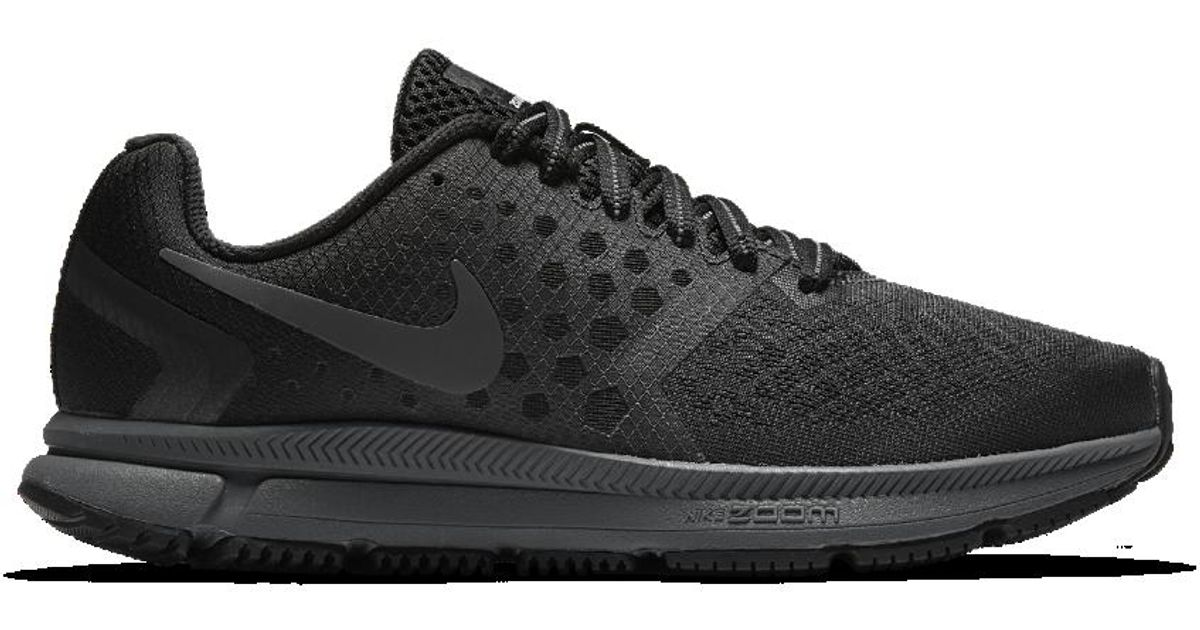 98571554ff84 ... 2 Running Shoe - BlackDark  clearance prices 2ca86 f662d Lyst - Nike  Air Zoom Span Shield Womens Running Shoe in Blac ...