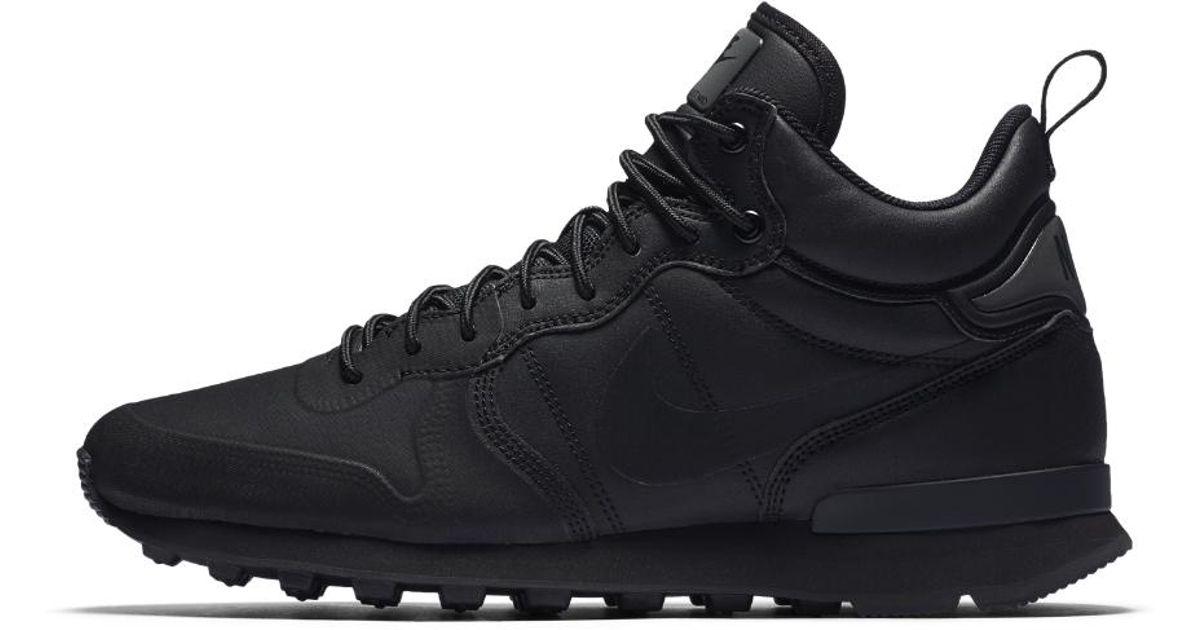 the best attitude 684c5 433aa Lyst - Nike Internationalist Utility Mens Shoe in Black for