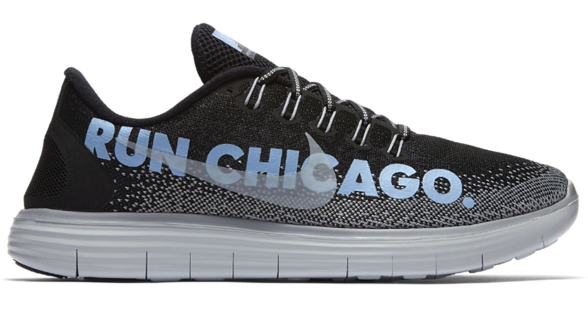 65126cb34b3 ... switzerland lyst nike free rn distance le chicago 2016 mens running  shoe in blue for men