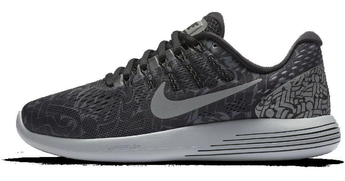 e49ef7d25b80e ... Nike Lunarglide 8 (rostarr) Womens Running Shoe in Black Lyst Nike X ...