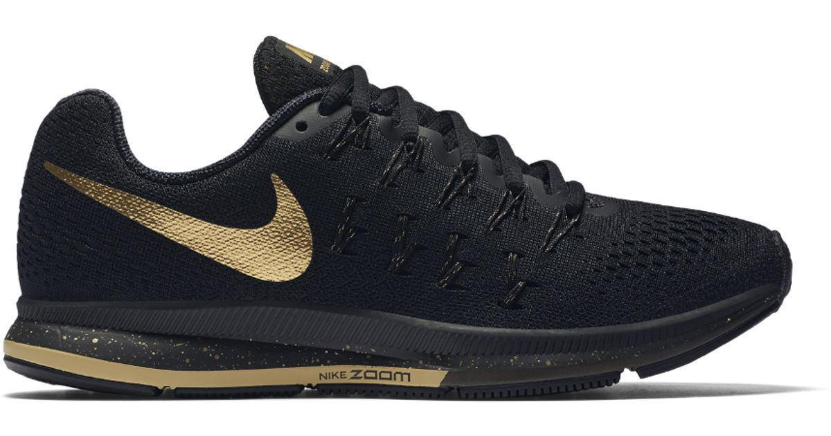 1dc3f0162783e ... coupon code for lyst nike air zoom pegasus 33 le bg womens running shoe  in black